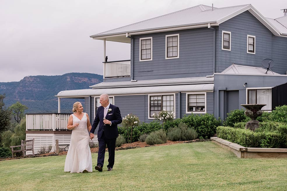 Wedding photographer Hunter Valley – Tracey and Alan