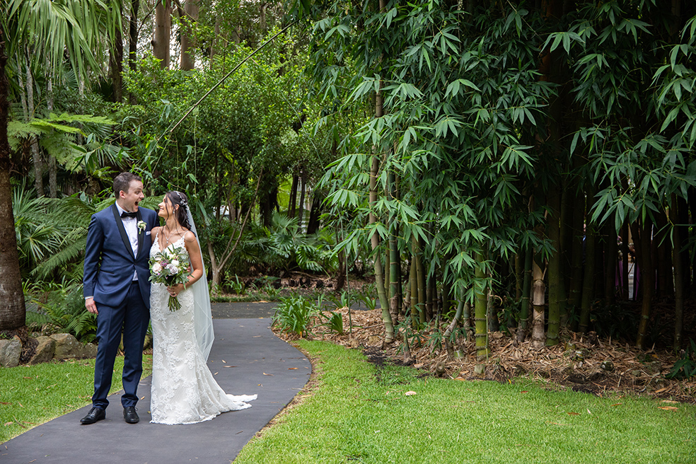 Central Coast wedding photographer – Brianna and Mitch are married!