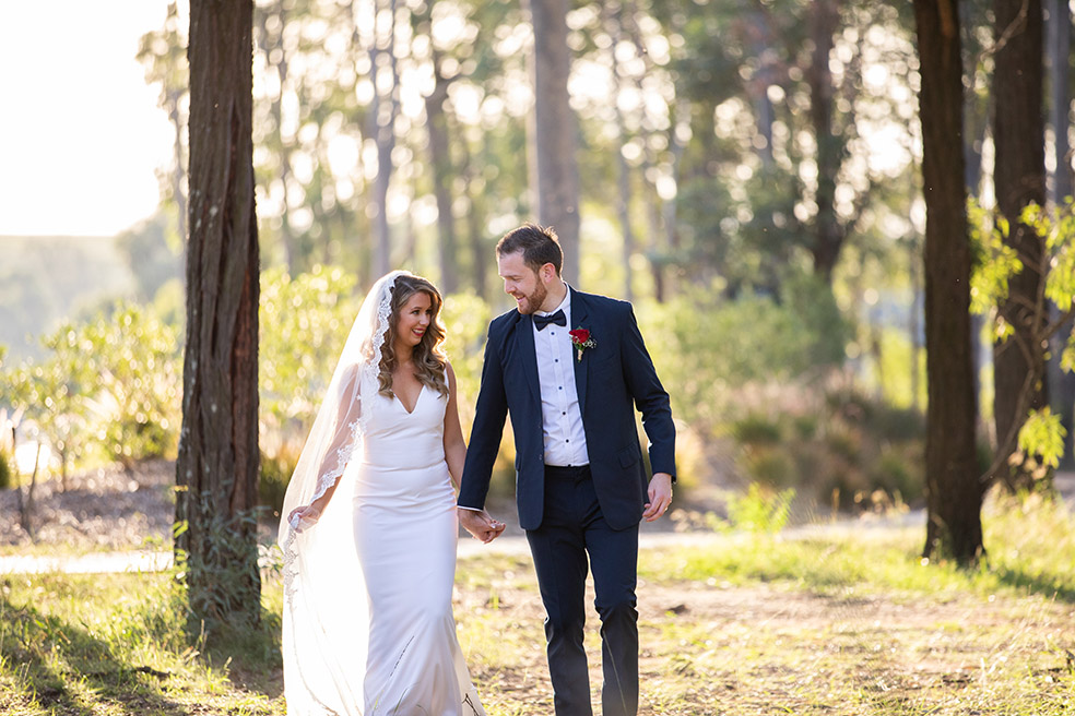 Hunter Valley wedding photographer – Luke and Alana are married!