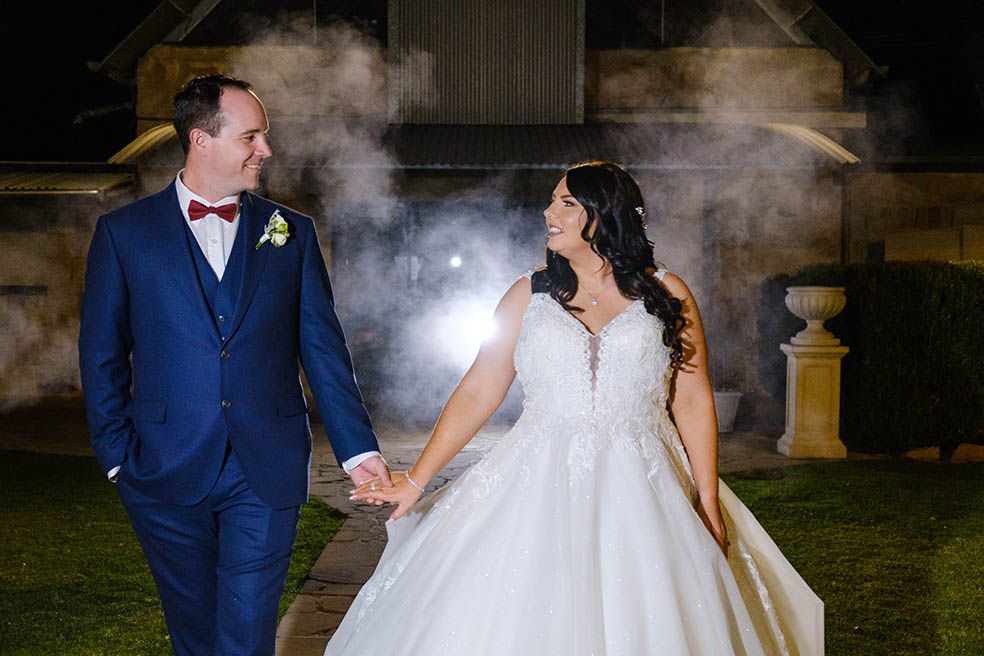Hunter Valley wedding photographer – Scott and Lydia are married