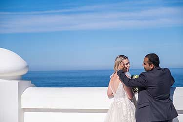Wedding at Norah Head lighthouse – Halie and Bhuwan