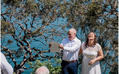 A stunning Wangi Wangi wedding