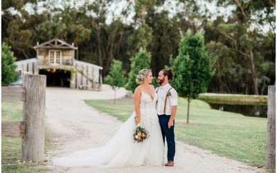 Stables of Somersby wedding – Kristy and Nathan