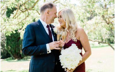 Royal Botanical Gardens wedding – Lisa and Martin